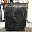 1960's Teisco Checkmate 88 Guitar Amp Tremolo & Reverb W/ Foot switch Control