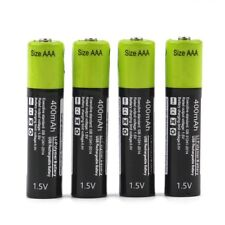 AAA Batteries USB Rechargeable Polymer 400mAh 1.5V Battery ZNTER ZNT7