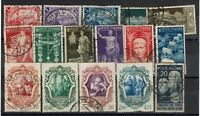 Italy 16 Mostly Used Stamps, some minor faults - C253