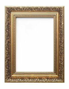 Ornate Swept Antique Style Instagram Square Photo Frame French Baroque Style