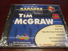 CHARTBUSTER 6+6 KARAOKE DISC 20543 TIM MCGRAW VOL 3 CD+G COUNTRY MULTIPLEX
