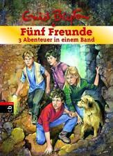 Fünf Freunde - 3 Abenteuer in einem Band von Enid Blyton (2017, Gebundene Ausgabe)