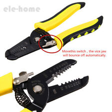 Multifunctional Handle Tool Cable Wire Stripper Stripping Cut Pliers Cutter ELEH