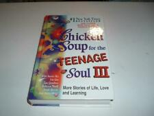 Jack Canfield Chicken Soup for the Teenage Soul HB 1st Scholastic Prnt.2000c