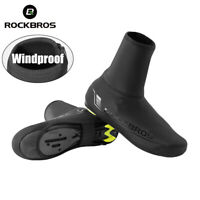 ROCKBROS Cycling Overshoes MTB Road Bike Winter Windproof  Warmer Shoe Covers