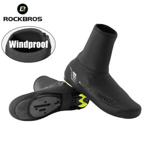 ROCKBROS Cycling Overshoes MTB Road Bike Winter Windproof  Warmer Shoe Covers