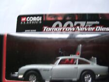 CORGI ASTON MARTIN DB5   PIERCE BROSNAN  WORKING PARTS TOMORROW NEVER DIES