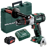 Metabo SB18LTXBLI 18v Combi Hammer With 1 x 4.0Ah Battery Charger & Carry Case