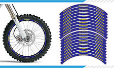 Sherco SE Model - Blue Motocross / Enduro / Supermoto Wheel Rim Stickers Decals