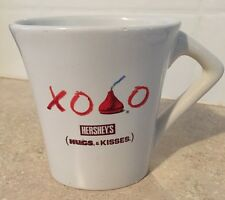 Hersheys Hugs And Kisses Oval Coffee Mug XOXO Tea Cocoa Huston Harvest Gifts