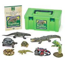 ha0647 Colorata Japan Real Figure box Reptile lizard chameleon Figure Set
