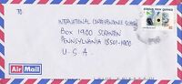 BD829) Papua New Guinea 2000 nice Airmail cover to USA