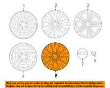 KIA OEM 14-18 Forte Wheels-Wheel Cover 52960A7000