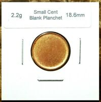 Canada Small Cent Blank Planchet (2.2g & 18.6mm) Choice Uncirculated!!