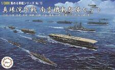 Fujimi Gunkan 13 Operation Pearl Harbor Nagumo Task Force Set 1/3000 Scale kit