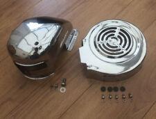 LAMBRETTA GP- LI-SX-TV STAINLESS STEEL ENGINE COWL SET - CYLINDER COWLING SET