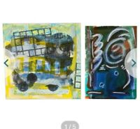 Original Merle Rosen Paintings (lot of 2), Signed, 2008, 2014-2016
