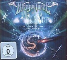 Dragonforce in The Line of Fire 2015 Region 0 Deluxe DVD Bonus CD New/