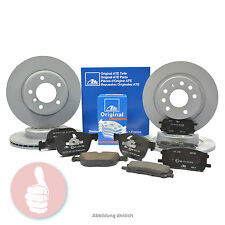 ATE Bremsscheiben V 300mm + H 302mm + Bremsbeläge VORNE + HINTEN FORD S-MAX