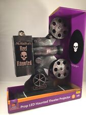 Home Accents Halloween Projector 13 in. Haunted Theater LED Illumination SOUND
