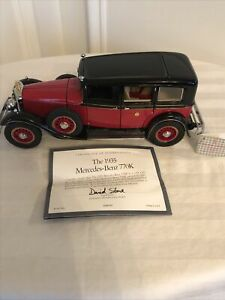 Franklin MINT Precision MODELS The 1935 Mercedes-Benz 770K Die-Cast MODEL 1:24