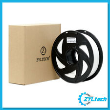 ZYLtech PLA 3D Printer Filament, 1.75 mm, 1 kg, 2.2 lbs- Milky White