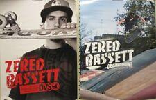 Dvs 2007 Zered Bassett 2 sided skateboard promo poster Flawless New Old Stock