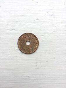 Nederlandsch Indie Coin 1Cent 1942 P