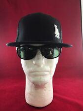 New Era 59Fifty MLB LA Dodgers Black With White LA Off To Side Flat Hat