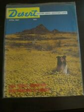 Desert Magazine April 1967 Collie Lancaster California Wildflowers Lake Powell