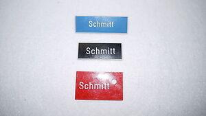 3 Namensschilder Schmitt Briefkastenschild Schlüsselschild Namensschild