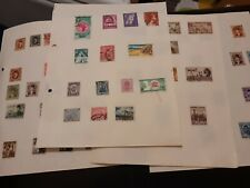Stamps Egypt,old to later, 4 hinged pages,good catalogue, nice lot.