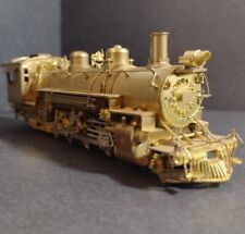 "Westside Model Company D&RGW Mikado HOn3 Class ""K-37"" Narrow Gauge Brass Train"