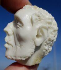 Cranio, januskopf, Skull da CORNO SCOLPITO Memento Mori-miracolo camera!