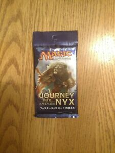 Journey into Nyx X1 Sealed Booster Pack Japanese. Magic the Gathering.