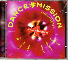 Dance Mission interaktiv CD-ROM PC & Mac. Weltraumspiel & 10 Techno Tracks Neu!