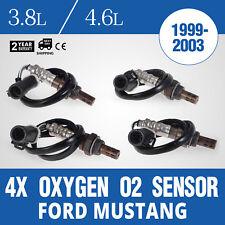 4Pcs O2 Oxygen Sensors Ford Mustang 1999-2003 3.8L V6 engine 234-4046