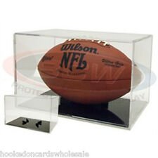 1 Ballqube Grandstand Football Storage Square Holder Cube Display Case UV SAFE