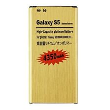 4350mAh High-Capacity Gold Battery for Samsung Galaxy S5 I9600 G900F G900T G900A