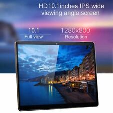 "10.1"" Tablet PC Android 7.0 Octa Core 64GB 10 Inch HD WIFI Dual SIM Phablet Pad#"