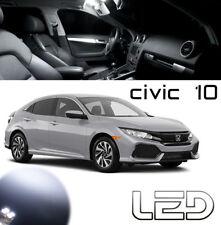 Honda CIVIC 10 Kit 5 Ampoules LED Blanc intérieur Plafonnier Coffre Boîte
