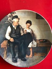 """Norman Rockwell Collector Plate """"The Lighthouse Keeper's Daughter"""" 1979 Knowles"""