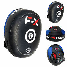 FTX Air Focus Pads Mitts Hook And Jab Boxing Punch Training MMA Muay Thai Pad