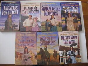 Lot Of 7 Lynn & Gilbert Morris Books, Cheney Duvall MD series