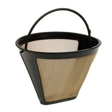 Reusable #4 Cone Shape Permanent Coffee Filter Mesh Basket Stainless Steel HI