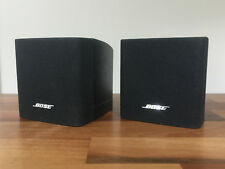 2 X BOSE BLACK CUBE ACOUSTIMASS 3 LIFESTYLE 18 T10 V10 SPEAKERS