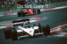 Nelson Piquet Brabham BT54 Winner French Grand Prix 1985 PHOTO 1