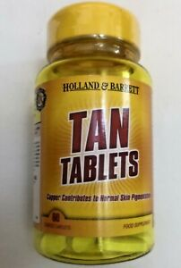 60 TANNING TABLETS Copper contributes to normal skin pigmentation