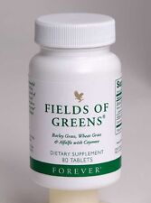 Forever Fields of Greens - 80 Tablets - Green food. Helps Digestion Exp.2021