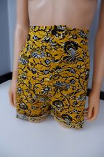 "Isabel Marant Shorts Amity"" Size 40 UK 10 NEW BNWTS rrp £110 Yellow High Waisted"
